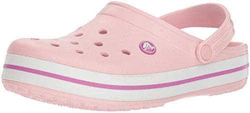 Crocs Unisex-Erwachsene Crocband Clogs, Pearl...