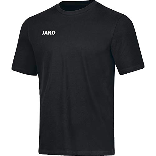 JAKO Kinder T-shirt Base, schwarz, 152, 6165
