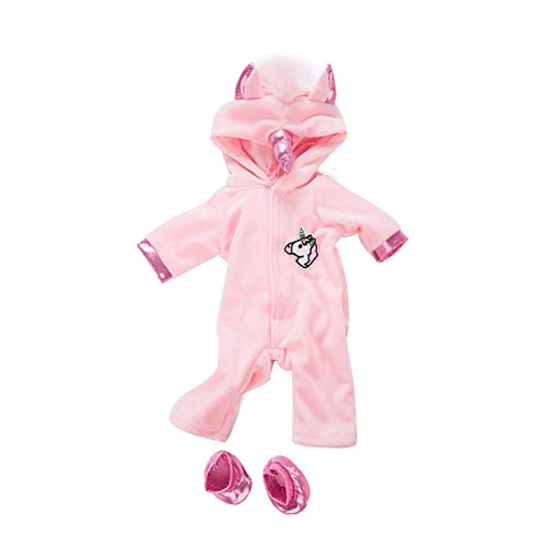 TOPofly Baby Doll Kleidung, 18 Zoll Puppen Unicorn...