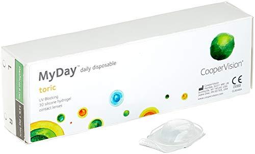 MYDAY Daily disposable Torisch Tageslinsen weich,...