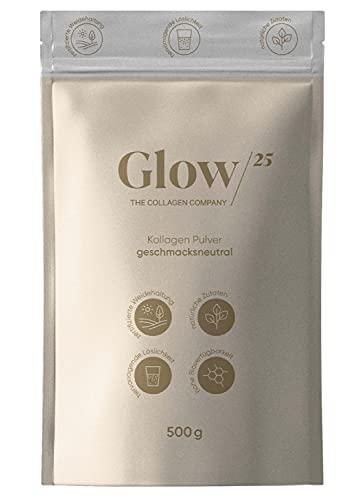 Glow25® Collagen Pulver [500g] - aus...