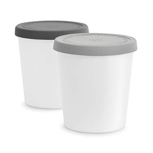 2er-Set Eisbehälter für Speiseeis 1 L,...