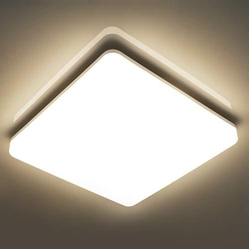 LED Deckenleuchte Bad, 24W 2400lm LED Deckenlampe...