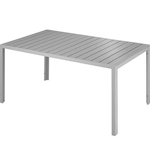 TecTake 800716 Gartentisch mit stabilem...