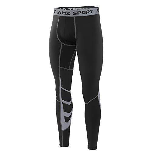 AMZSPORT Herren Fitness Hose Pro Cool Compression...