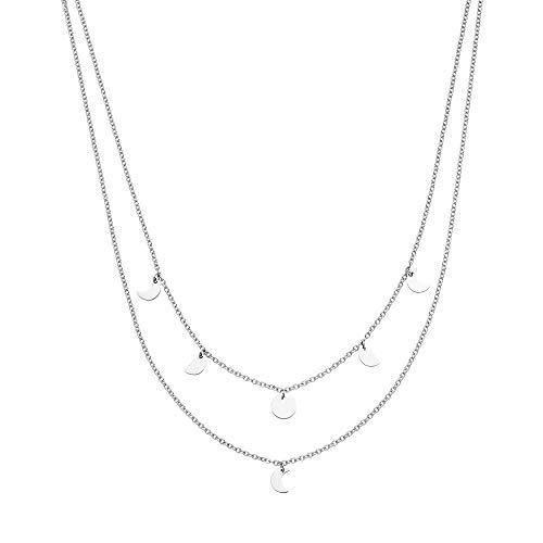 Purelei Halskette Luna (Luna-Silber) (35/40 cm...