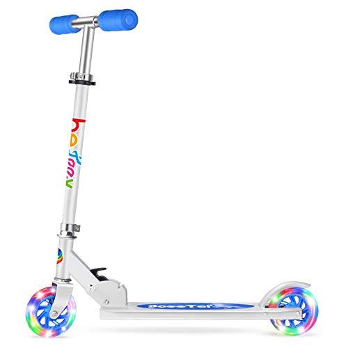 BELEEV Roller Kinder 2 Räder Klappbar Kick...