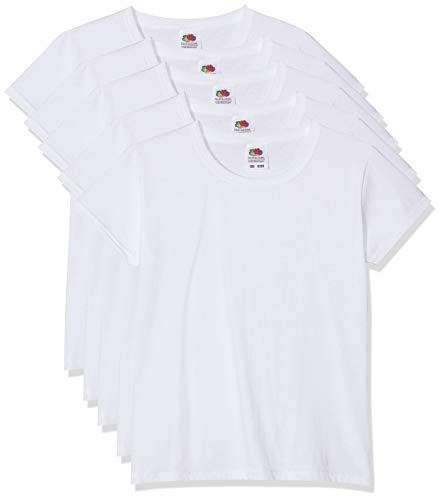 5 Fruit of the loom Kinder T-Shirts Valueweight...