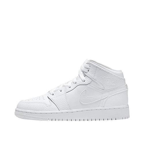 Nike Herren AIR Jordan 1 MID (GS) Basketballschuh,...
