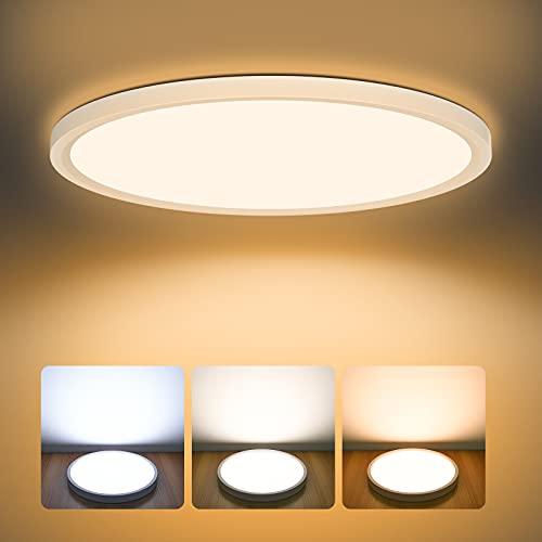 LED Deckenleuchte Dimmbar 24W, AVANLO...