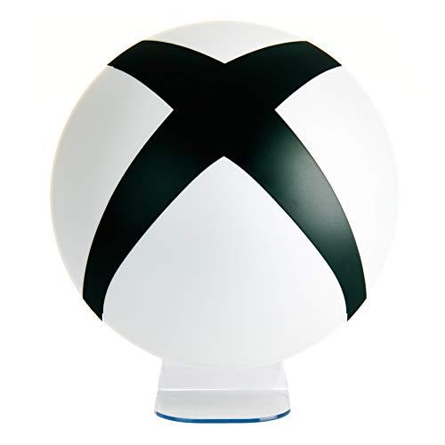 Microsoft XBox 3D Lampe Logo schwarz/weiß, rund,...