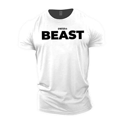 GYMTIER Beast - Bodybuilding-T - Shirt   Herren...