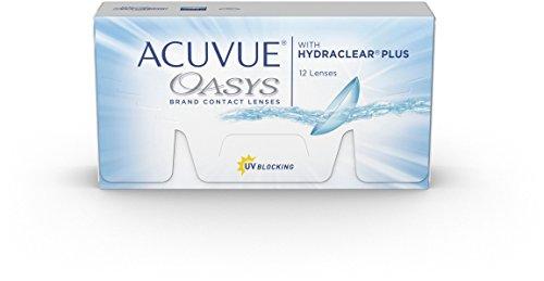 Acuvue Oasys 2-Wochenlinsen weich, 12 Stück / BC...