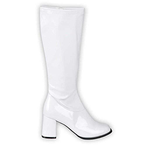 Boland 46213 - Stiefel Retro Weiß, Damen,...