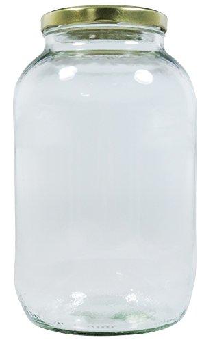 Viva Haushaltswaren XL Einmachglas 3400ml mit...