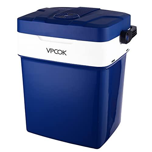 VPCOK Kühlbox Auto Kühlbox 12V 230V, Kühlbox...