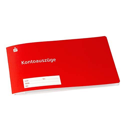 25 x Sparkassen Hefter Kontoauszugshefter für...
