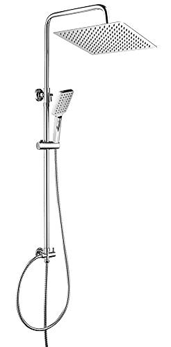 OUNUO Regendusche Duschset Duschsystem Edelstahl...