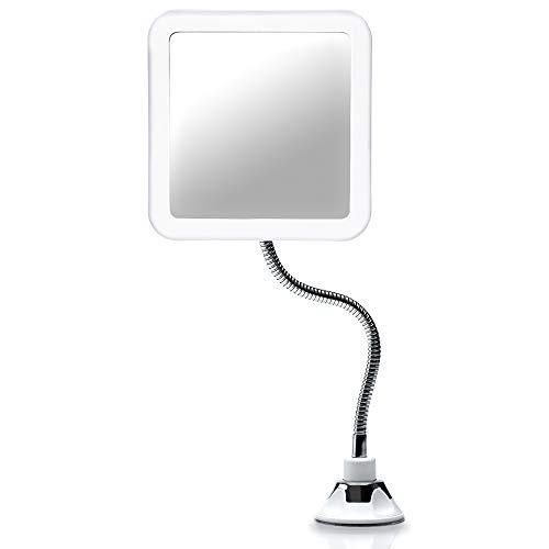 Fancii flexibler Vergrößerungsspiegel mit LED...