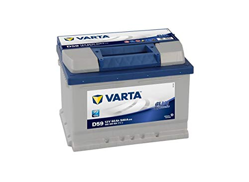 Varta D59 Autobatterie 58360 Blue Dynamic, 12V, 60...
