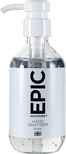 Epic Solutions® Hände-Desinfektionsgel 500ml mit...