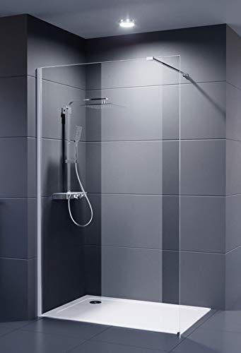 Duschmeister Glaswand Dusche 120x200 cm Walk In...