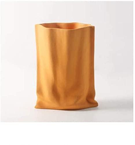WQQLQX Statue Vase Keramik Falten Blumentopf...