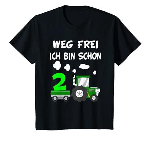 Kinder 2. Geburtstag Weg Frei Ich bin schon 2...