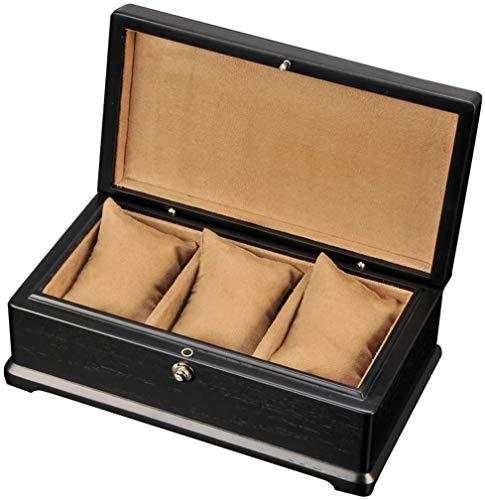 NBVCX Wohnaccessoires 3 Slot Watch Box mit...