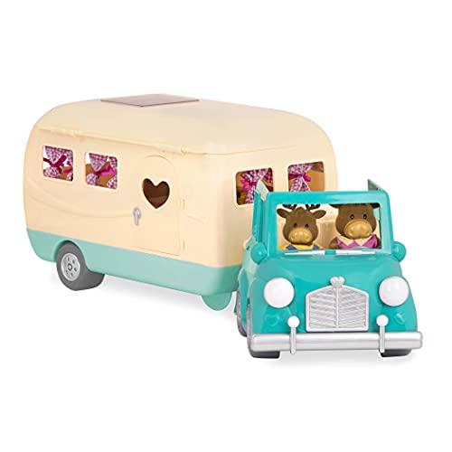 Li'l Woodzeez 40-teiliges Auto und Wohnmobil Set...