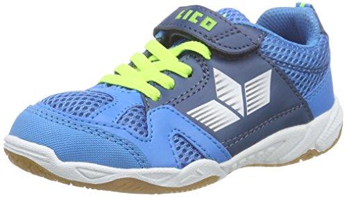 Lico Sport VS Unisex Kinder Hallenturnschuh, Blau/...
