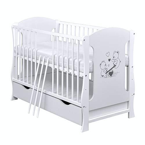 Baby Delux Babybett Kinderbett Juniorbett Teddy...