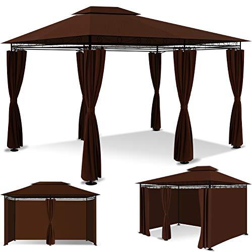 KESSER® - Pavillon 3x4m inkl. Seitenwände mit...