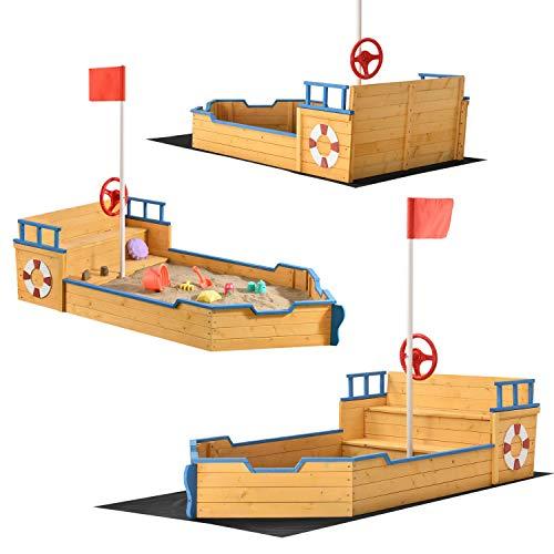 Juskys Sandkasten Käpt'n Pit - Piratenschiff...