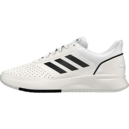Adidas Herren Courtsmash Tennisschuhe Weiß...