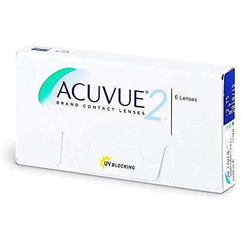 Acuvue 2-Wochenlinsen weich, 6 Stück / BC 8.7 mm...
