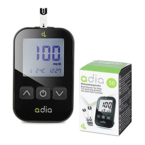 Adia Diabetes-Set, Messeinheit mg, mit 60...