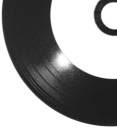 25 Vinyl CD-R Printable Weiß Inkjet Bedruckbare...
