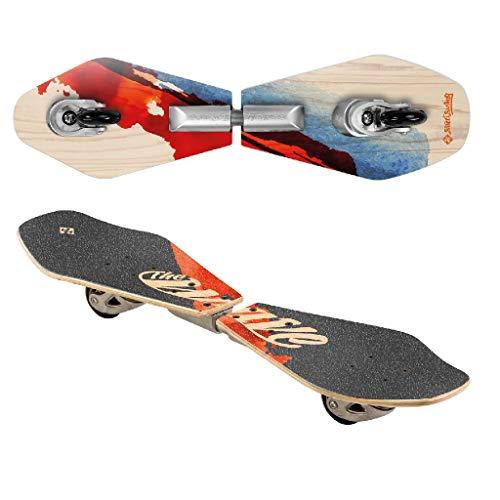 Streetsurfing Street Surfing Wooden Waveboard Wave...