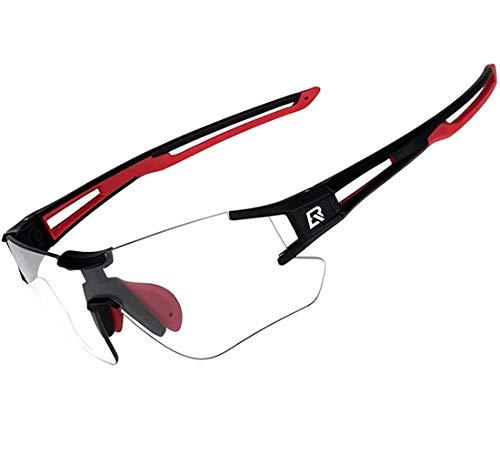 ROCKBROS Fahrradbrille Selbsttönend für Damen...