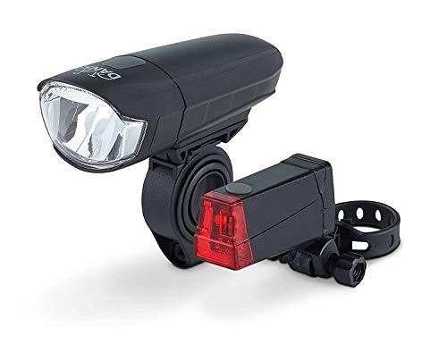 DANSI LED Fahrrad-Batterieleuchtenset, StVZO,...