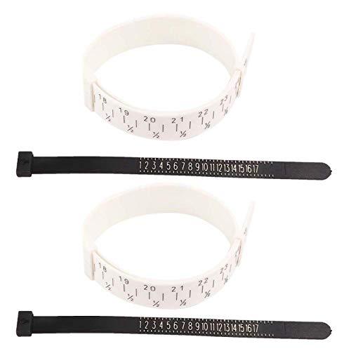 2 Sätze Ring Bracelet Sizer, Finger Wrist...