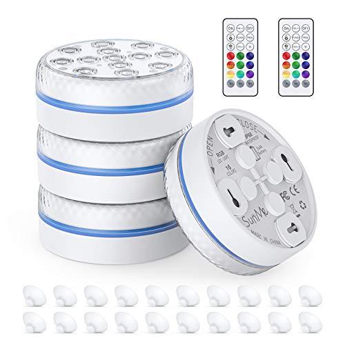 Unterwasser-LED-Leuchte 13 LED-RGB,...