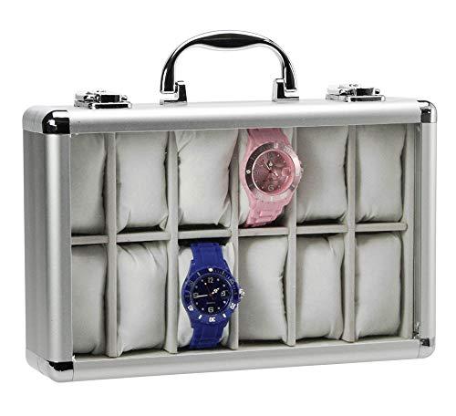 SAFE 265-2 ALU Uhrenaufbewahrungsbox Herren für...
