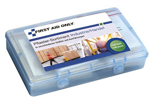 First Aid Only Pflaster-Sortiment, 100 Stück,...