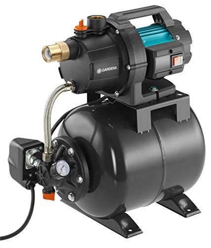 GARDENA Hauswasserwerk 3700/4: mit 800 W Leistung...