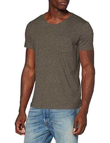 edc by ESPRIT Herren 990CC2K306 T-Shirt, 364/OLIVE...
