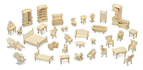 Quay Möbelset Holzbastelbausatz FSC