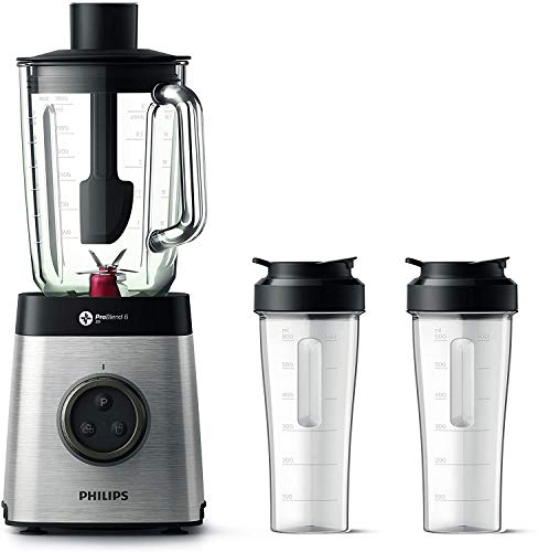 Philips HR3655/00 Standmixer (1400 Watt, ProBlend...