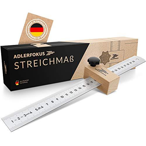 Adlerfokus® Streichmaß [EG-1] Made in Germany...